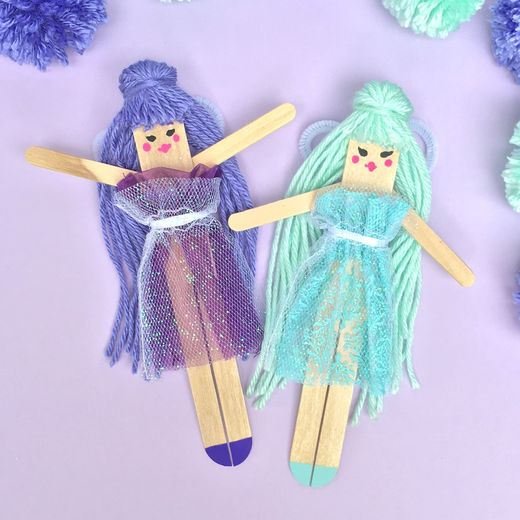 DIY Lavender Fields Fairies — Hobby Art Chemaco